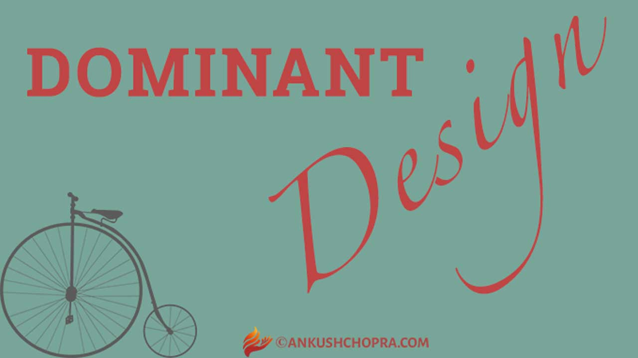 HOW DOMINANT DESIGN AFFECTS THE INNOVATOR